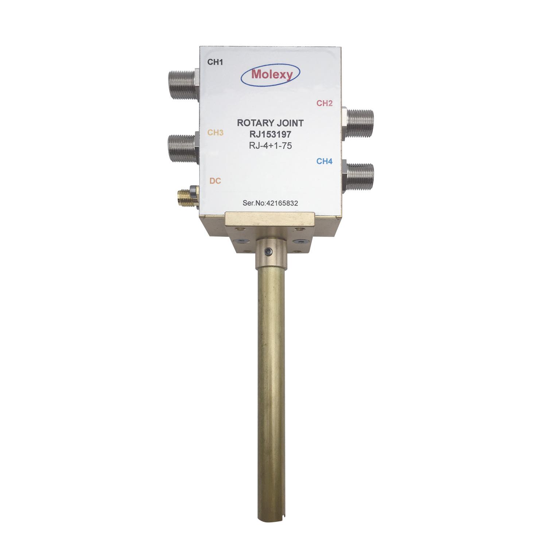四路卫星旋转关节RJ153197 [DC to 2.2 GHz] F SMA